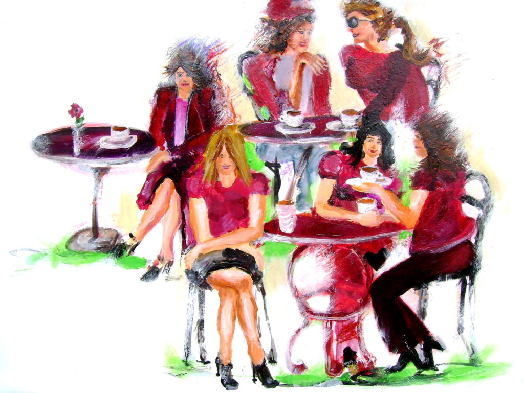 Schnuppervortrag Gründungswerkstatt Café feminin